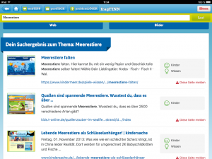 fragFINN-App Suchergebnisse
